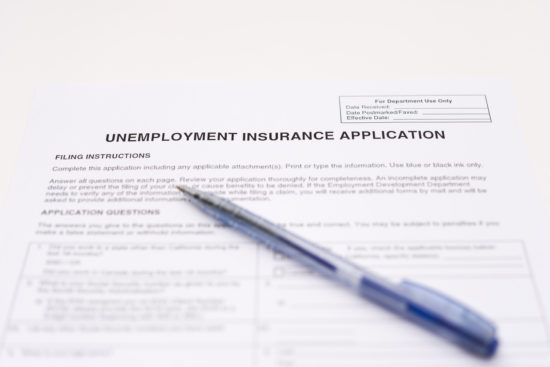unemployment insurance application